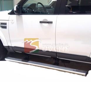 英德路虎发现4电动踏板改装 英德汽车改装 英德汽车配件 英德汽车用高清图片