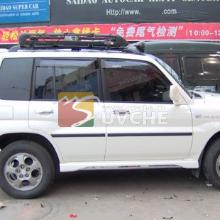 台州猎豹飞腾改装精品 猎豹飞腾防擦条 又名防撞条 腰线 浙江台州汽车高清图片