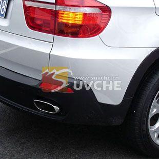 台州宝马X5排气管尾喉改装 浙江台州汽车改装 台州汽车装饰配件 台州高清图片
