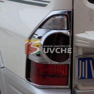 越野三菱帕杰罗改装精品 三菱帕杰罗V73v77后灯罩越野改装 越野汽车高清图片