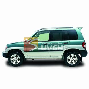 西安猎豹飞腾改装精品 猎豹飞腾原厂行李架西安SUV改装 西安汽车改高清图片