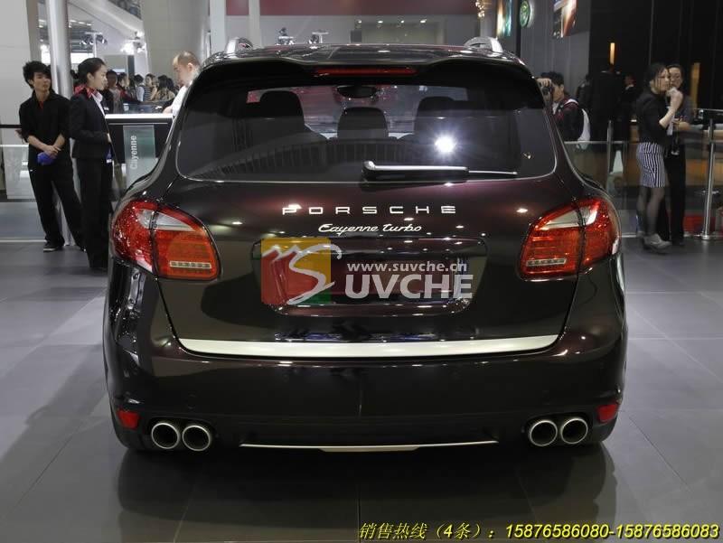 11 改装精品 2011保时捷卡宴Turbo四出排气管越野改装 越野汽车改高清图片