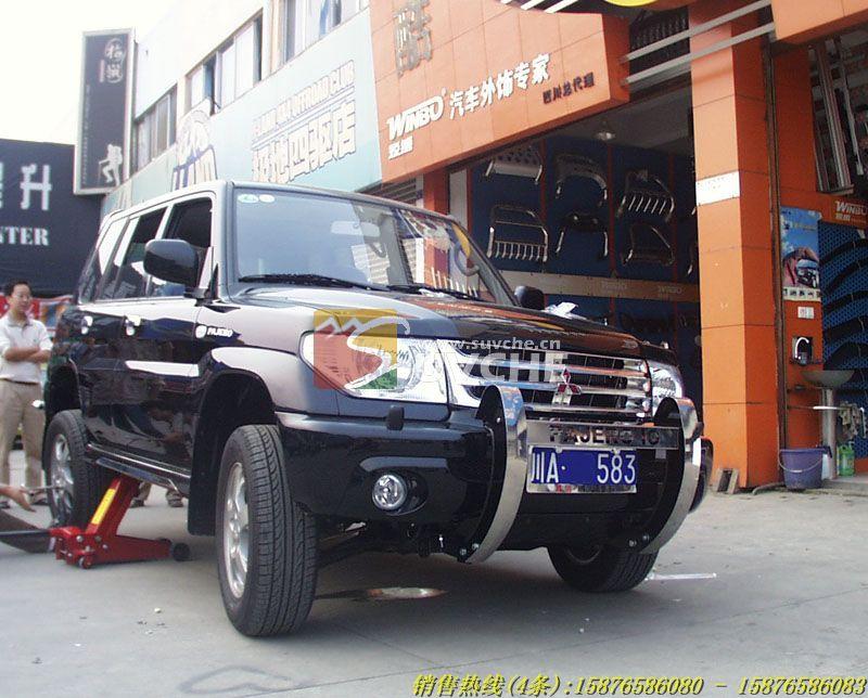 西安猎豹飞腾改装精品 猎豹飞腾U型前杠西安SUV改装 西安汽车改装 高清图片
